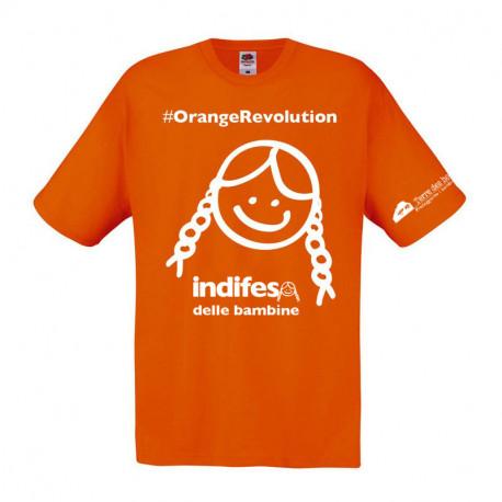 T-Shirt OrangeRevolution FRONTE