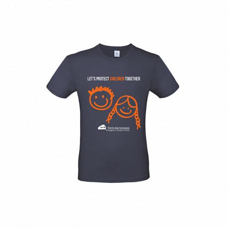 T-Shirt Let's Protect Children Together