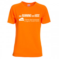 "T-Shirt da corsa ""Running4Kids"""