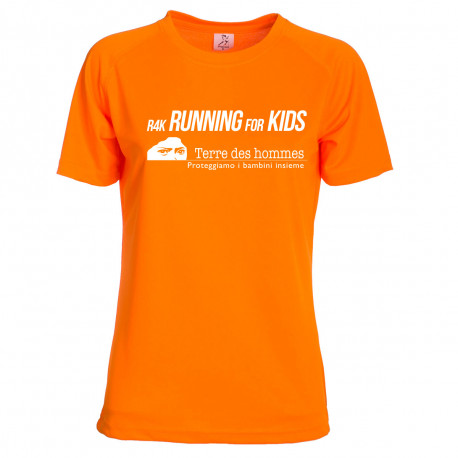 """T-Shirt da corsa """"Running4Kids"""""""